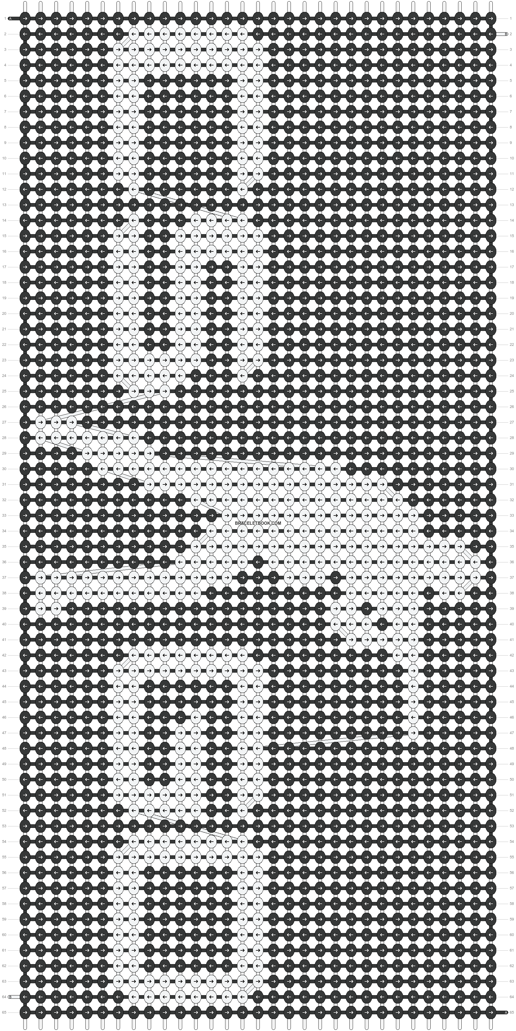 Alpha pattern #17161 pattern