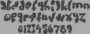 Alpha pattern #17162