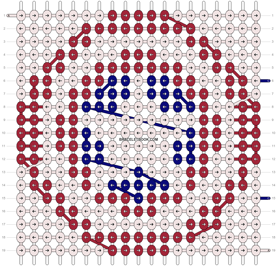 Alpha pattern #17163 pattern