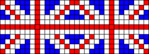 Alpha Friendship Bracelet Pattern #17164