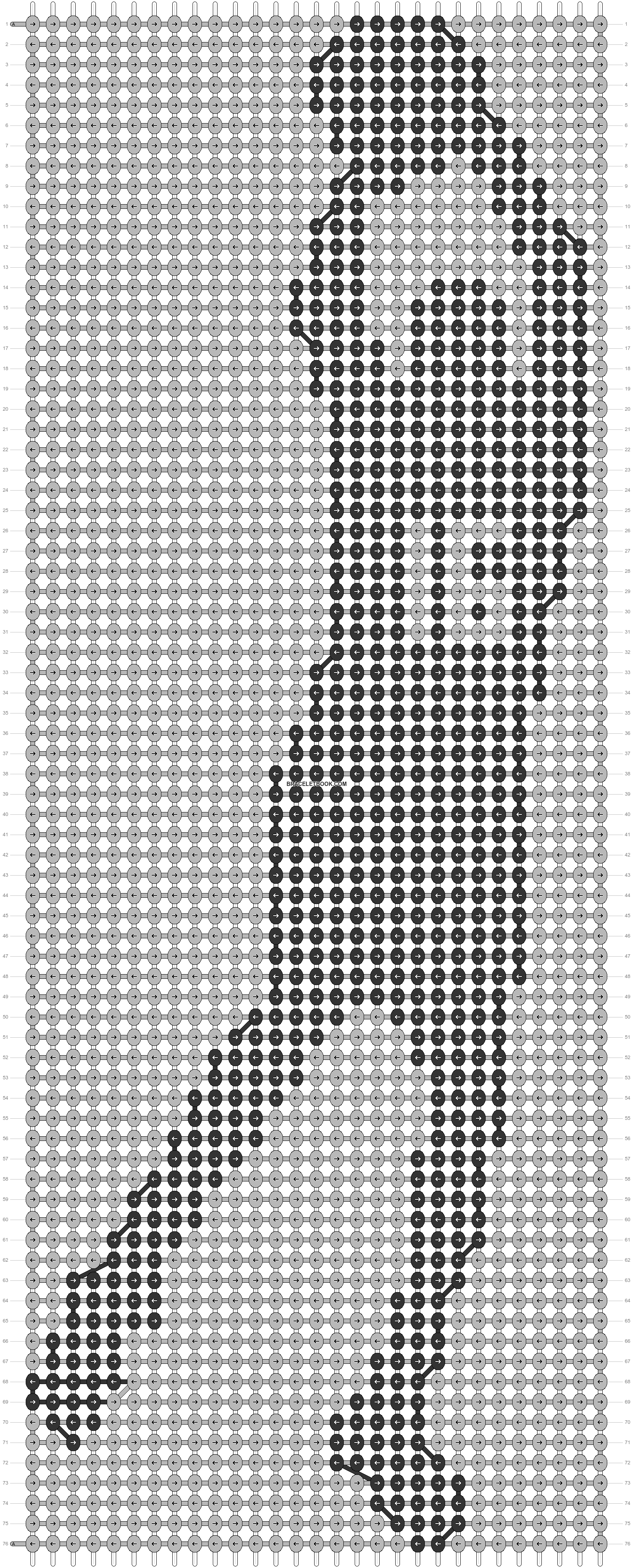 Alpha pattern #17167 pattern