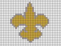 Alpha Friendship Bracelet Pattern #17172