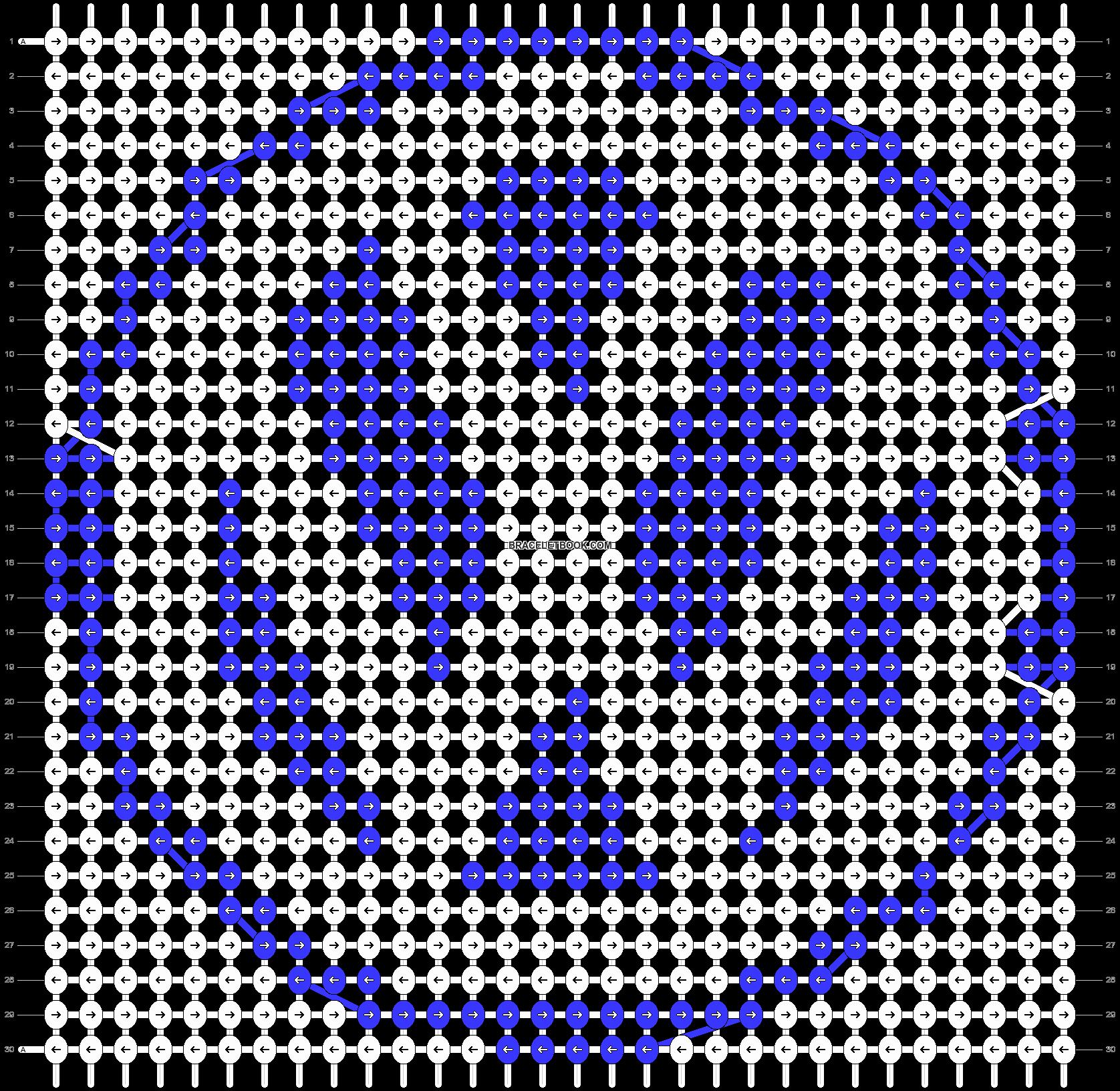 Alpha pattern #17184 pattern