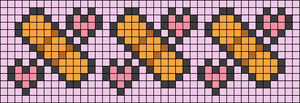 Alpha Friendship Bracelet Pattern #17196