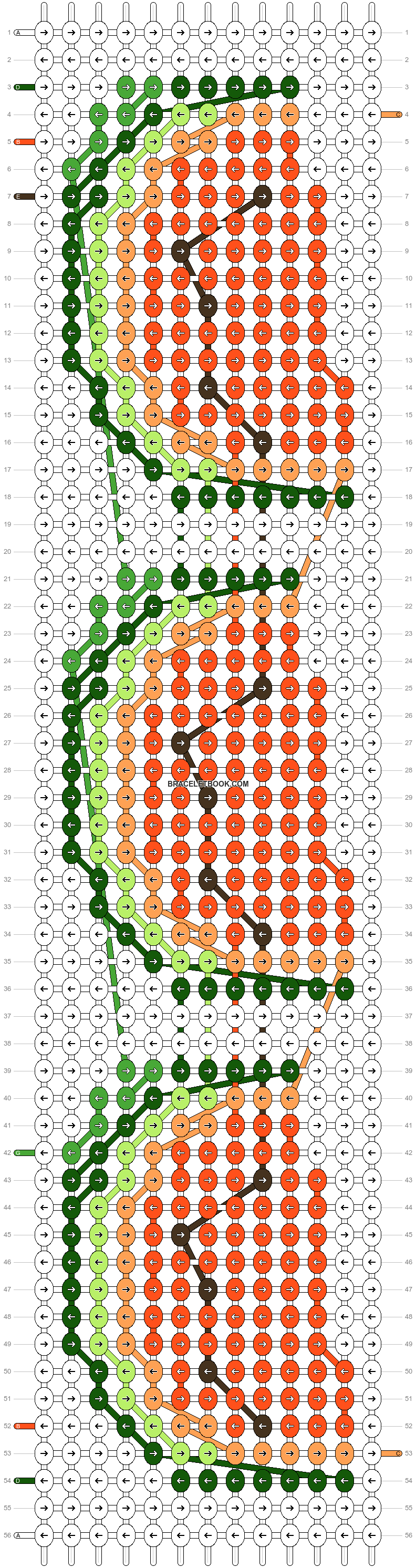 Alpha pattern #17197 pattern