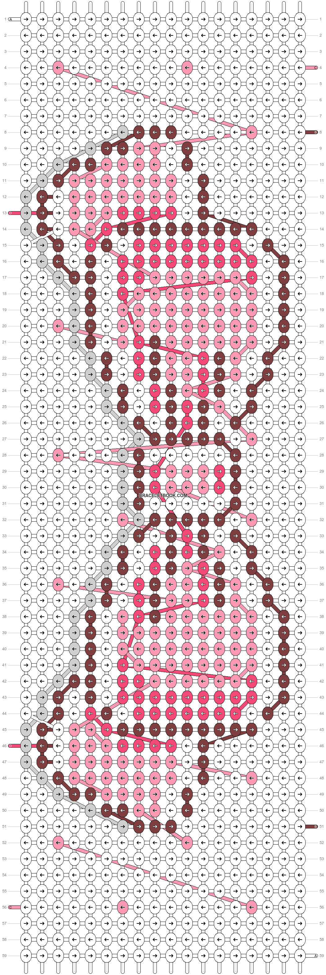 Alpha pattern #17198 pattern