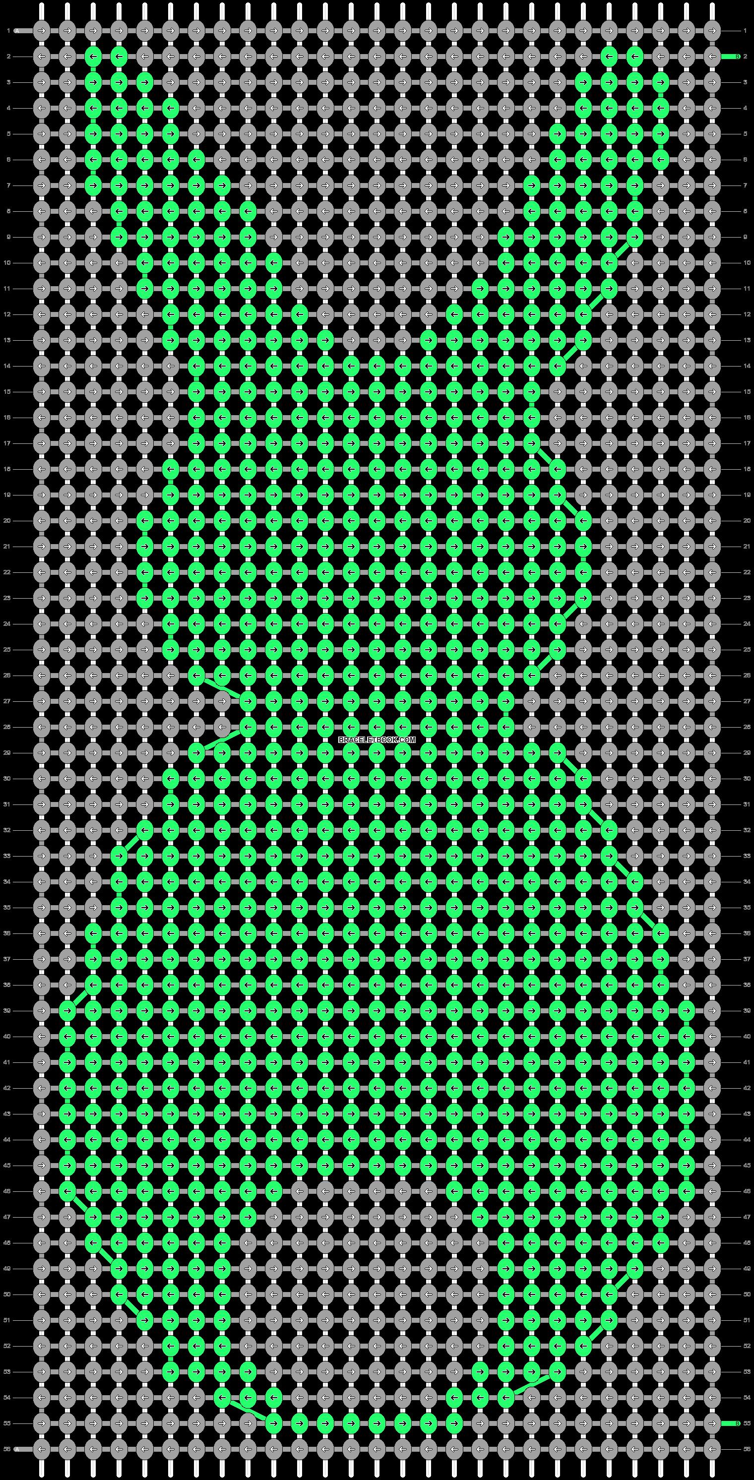 Alpha pattern #17203 pattern