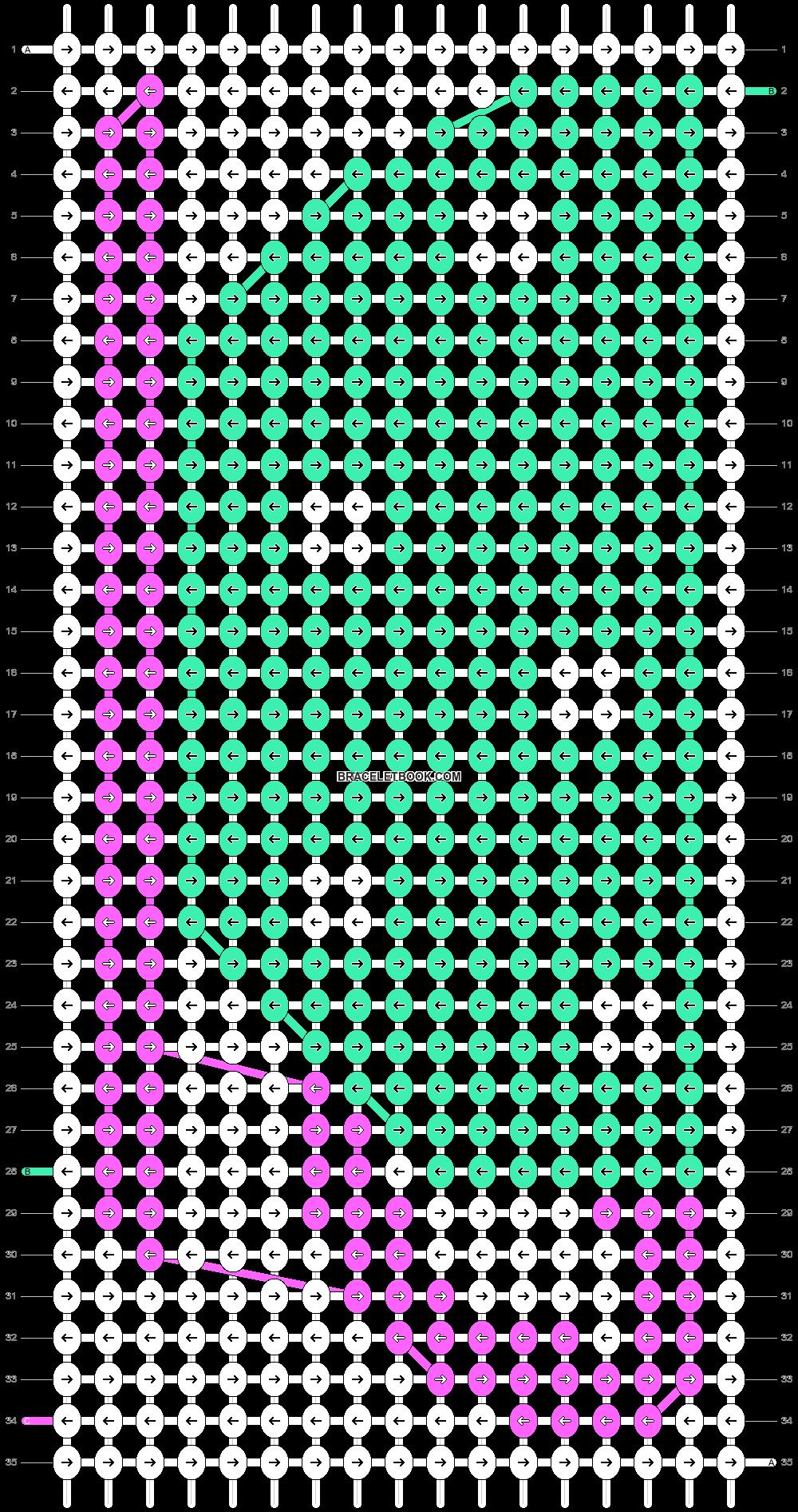 Alpha pattern #17214 pattern