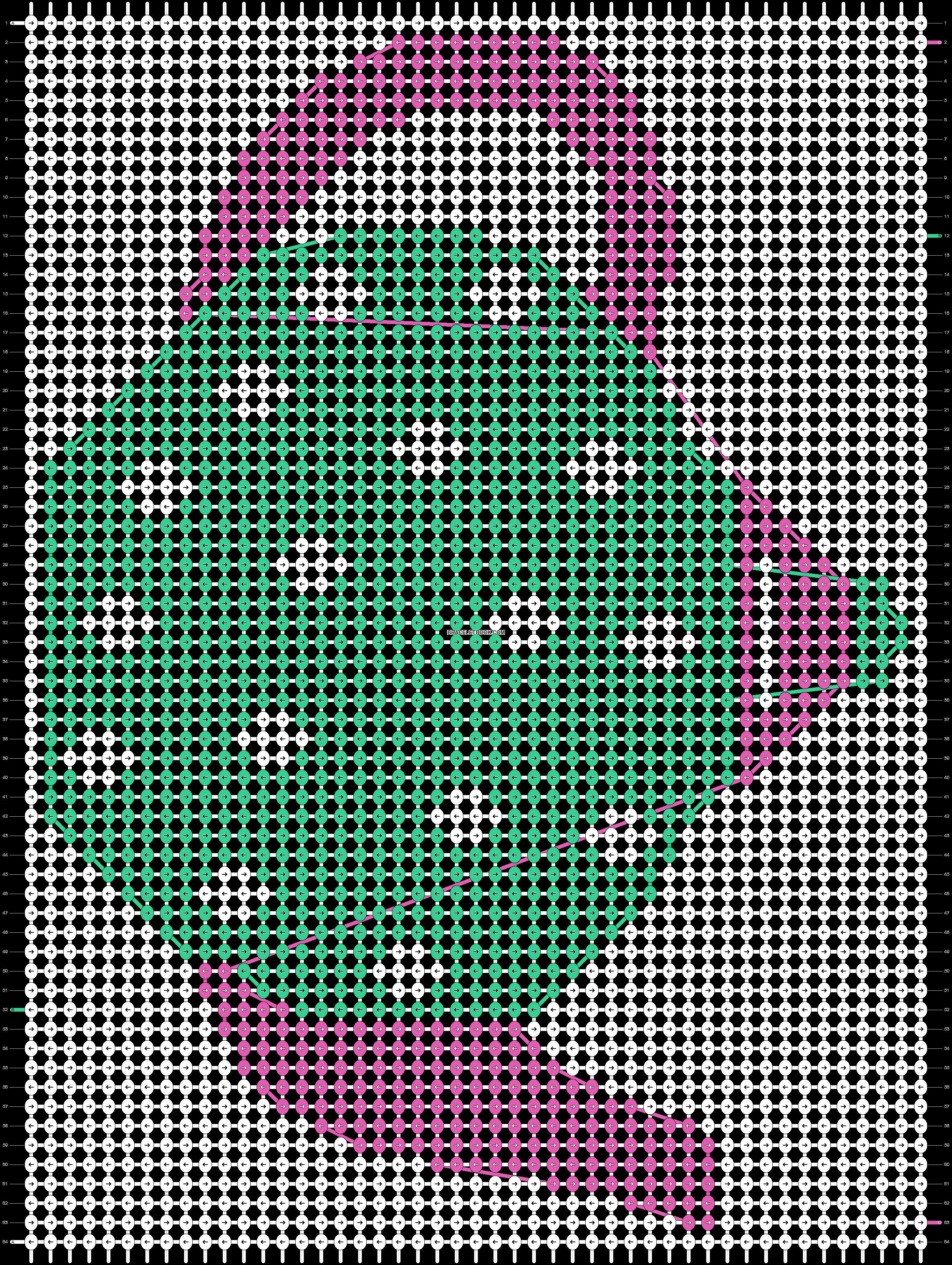 Alpha pattern #17216 pattern