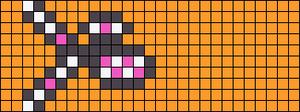 Alpha Friendship Bracelet Pattern #17219