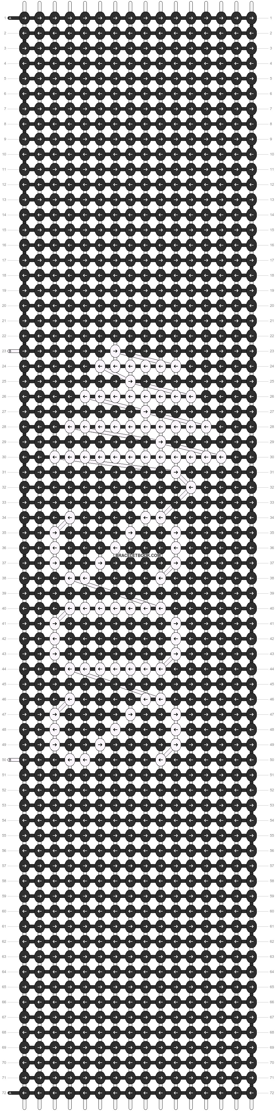 Alpha pattern #17220 pattern
