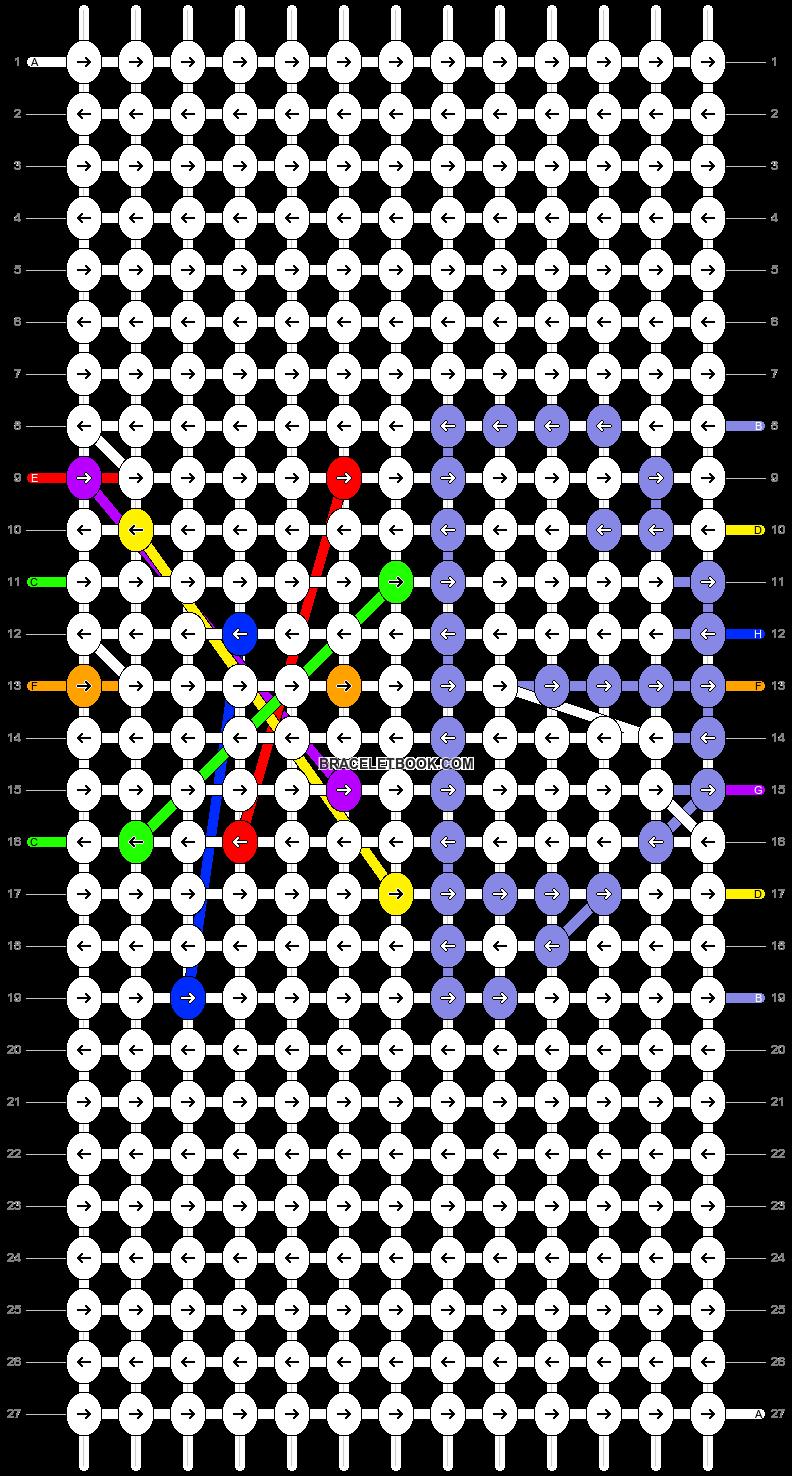 Alpha pattern #17247 pattern