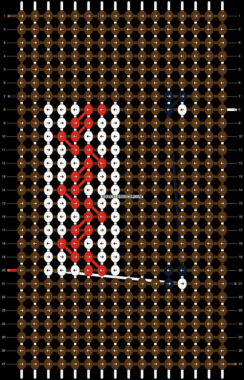 Alpha pattern #17249 pattern