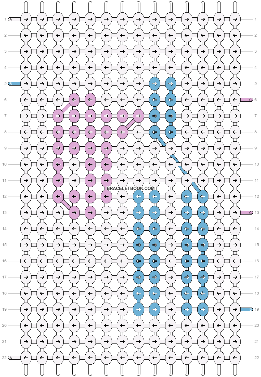 Alpha pattern #17265 pattern