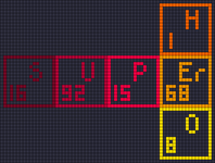 Alpha pattern #17287