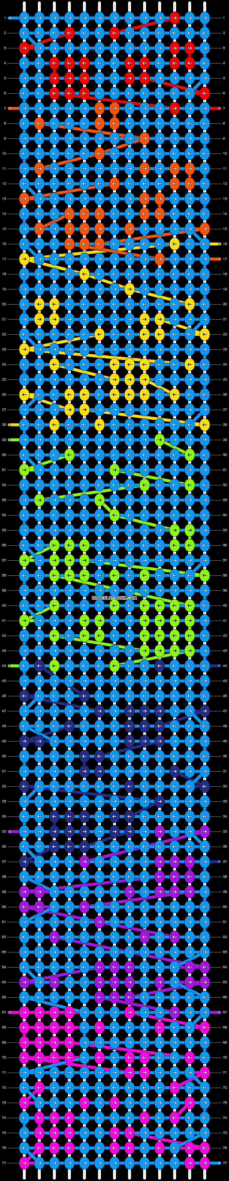 Alpha pattern #17298 pattern