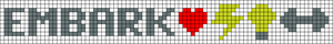 Alpha pattern #17330