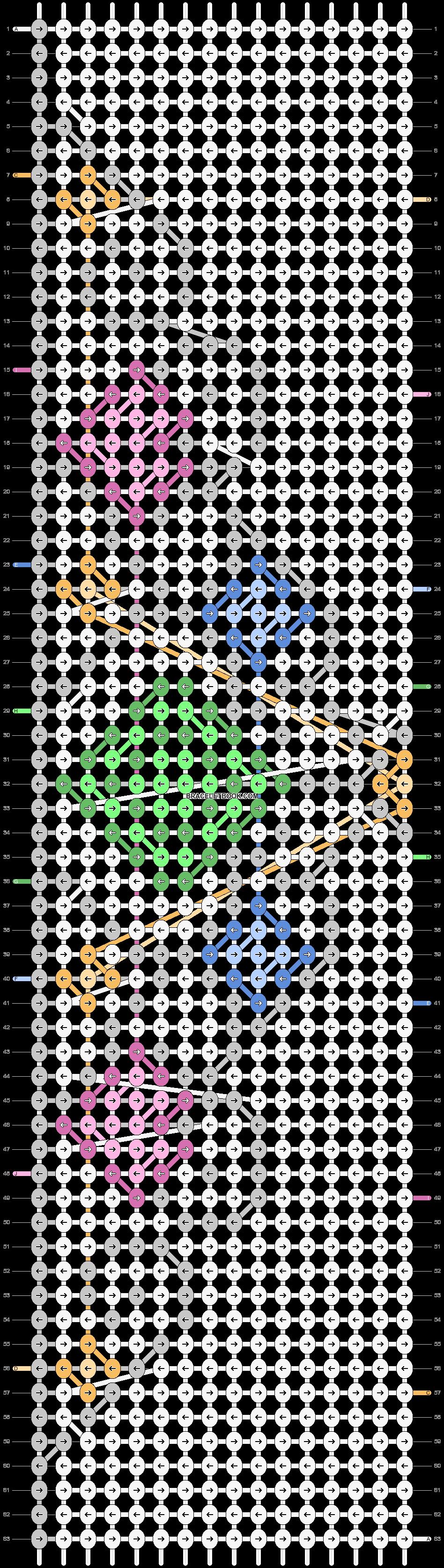 Alpha pattern #17331 pattern
