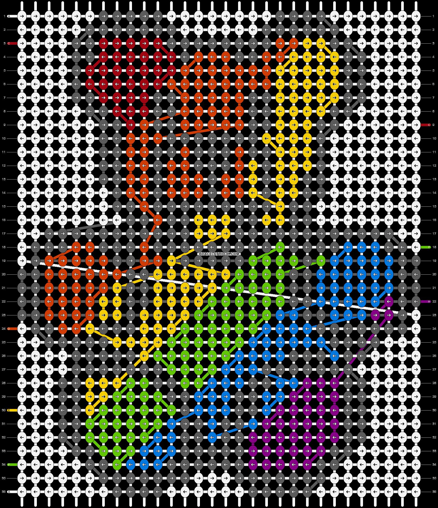 Alpha pattern #17337 pattern