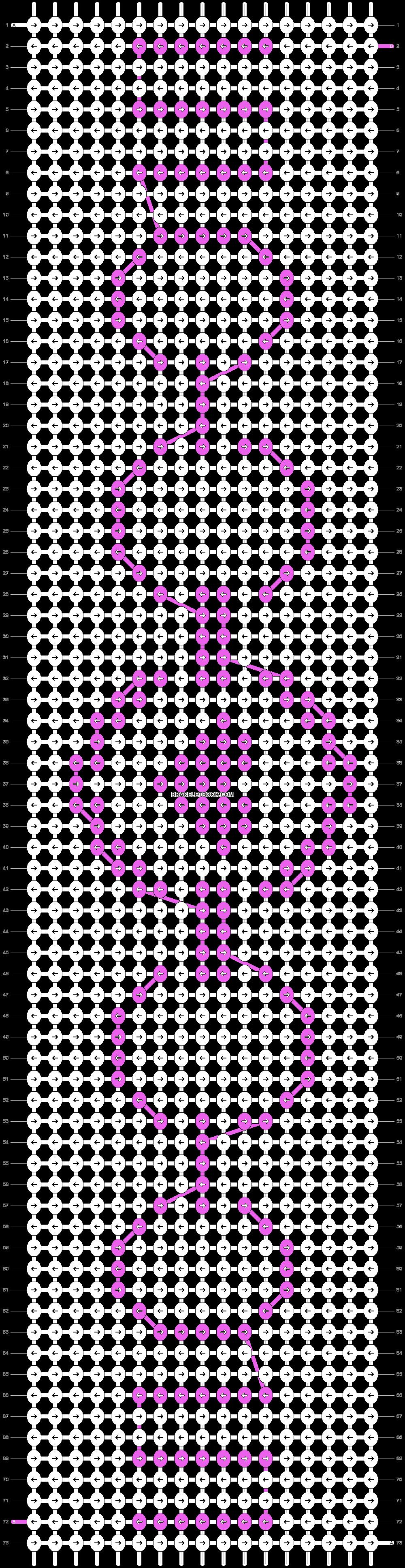 Alpha pattern #17338 pattern