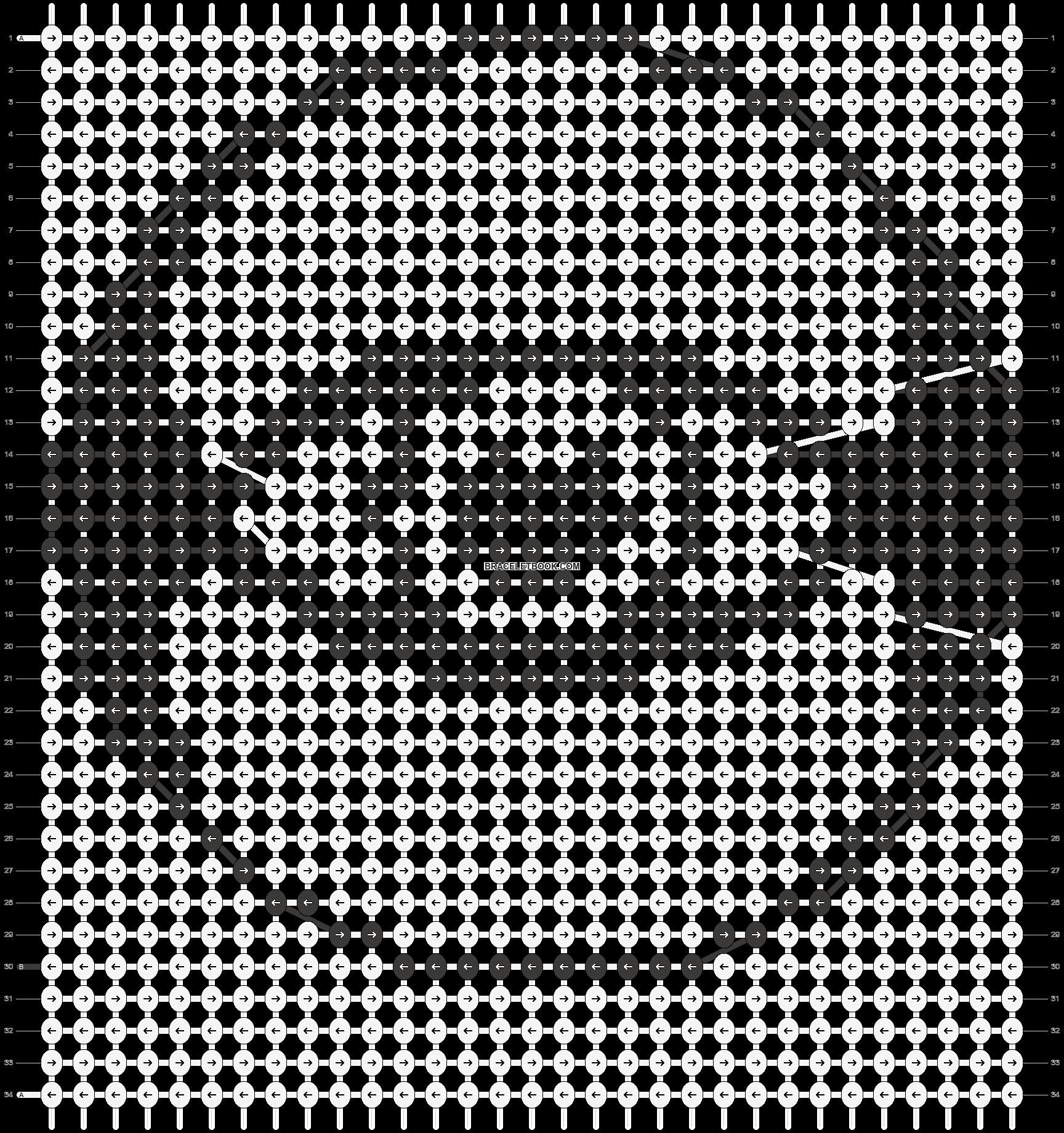 Alpha pattern #17343 pattern