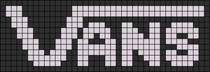 Alpha Friendship Bracelet Pattern #17347