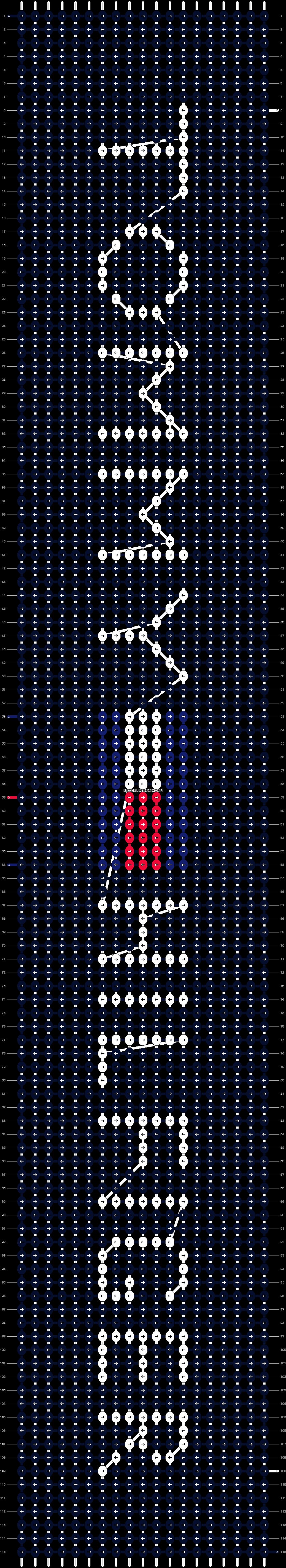 Alpha pattern #17350 pattern