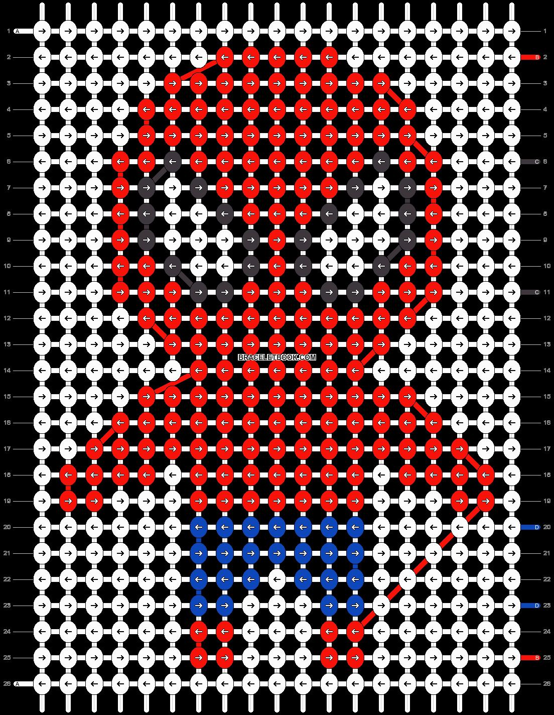 Alpha pattern #17366 pattern