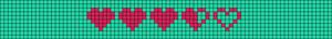 Alpha Friendship Bracelet Pattern #17376