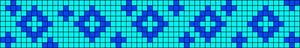 Alpha Friendship Bracelet Pattern #17377