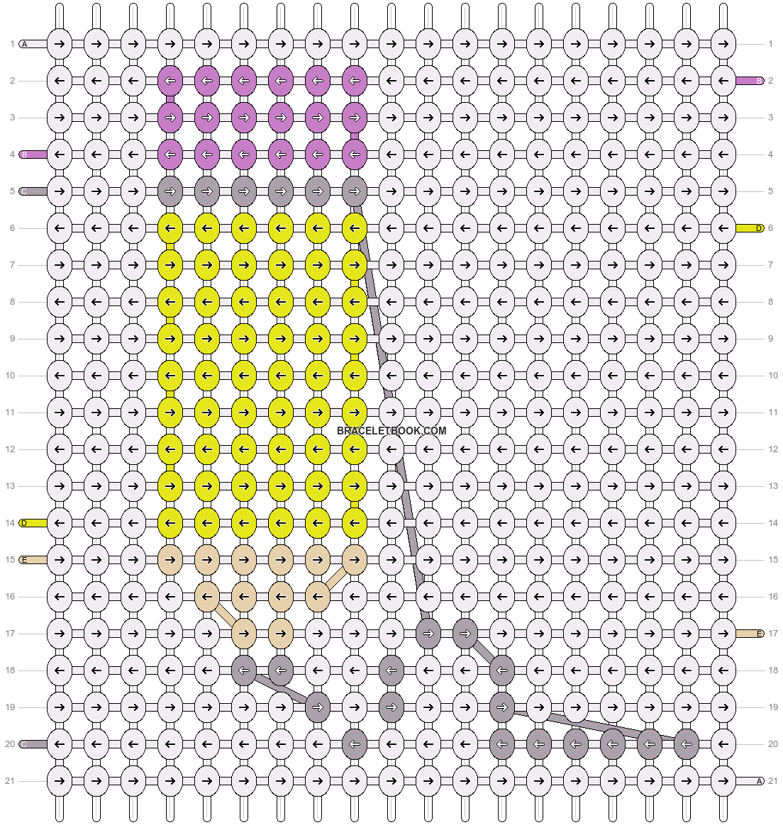 Alpha pattern #17380 pattern