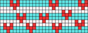 Alpha Friendship Bracelet Pattern #17389