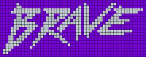 Alpha pattern #17401