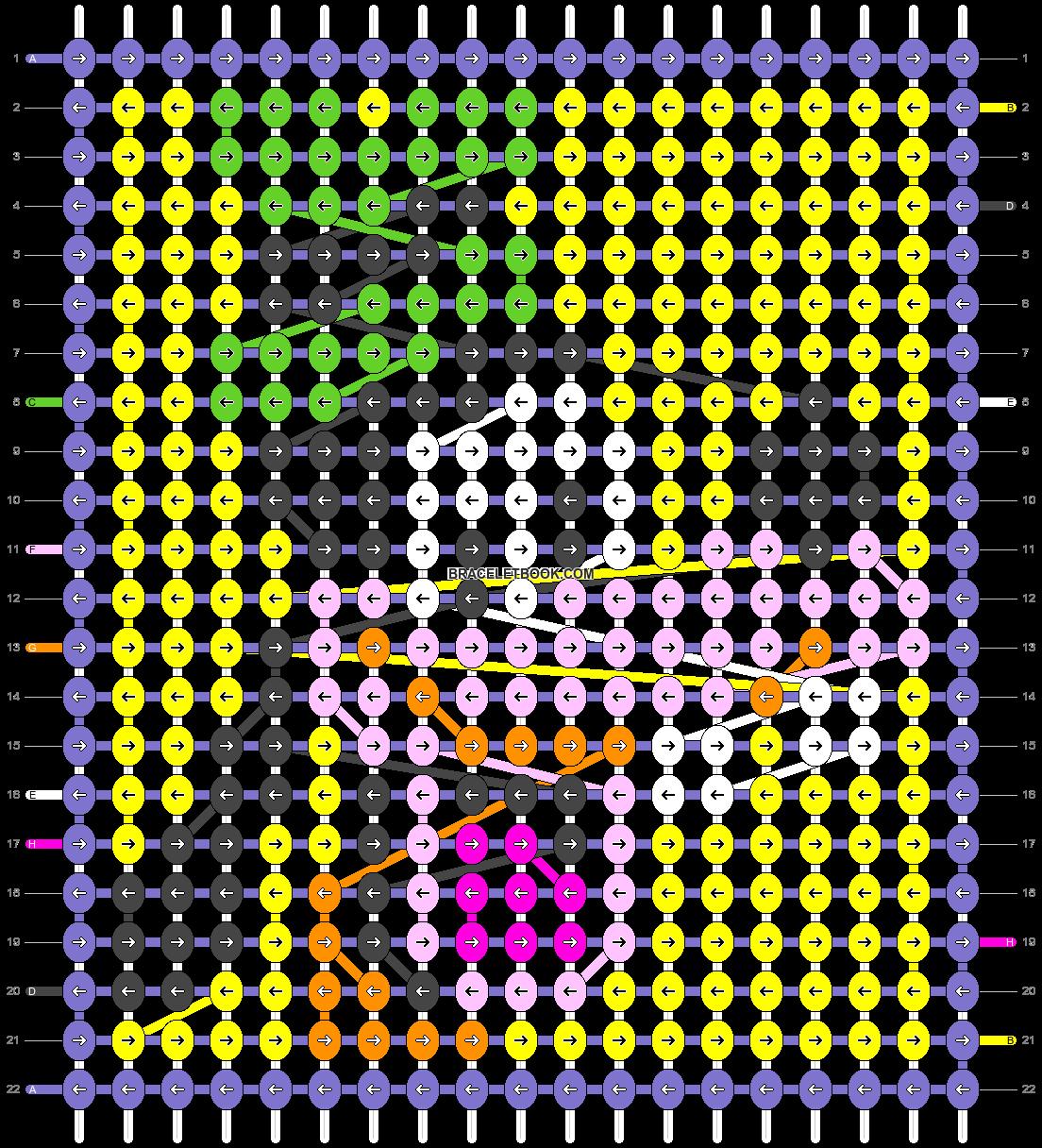 Alpha pattern #17405 pattern