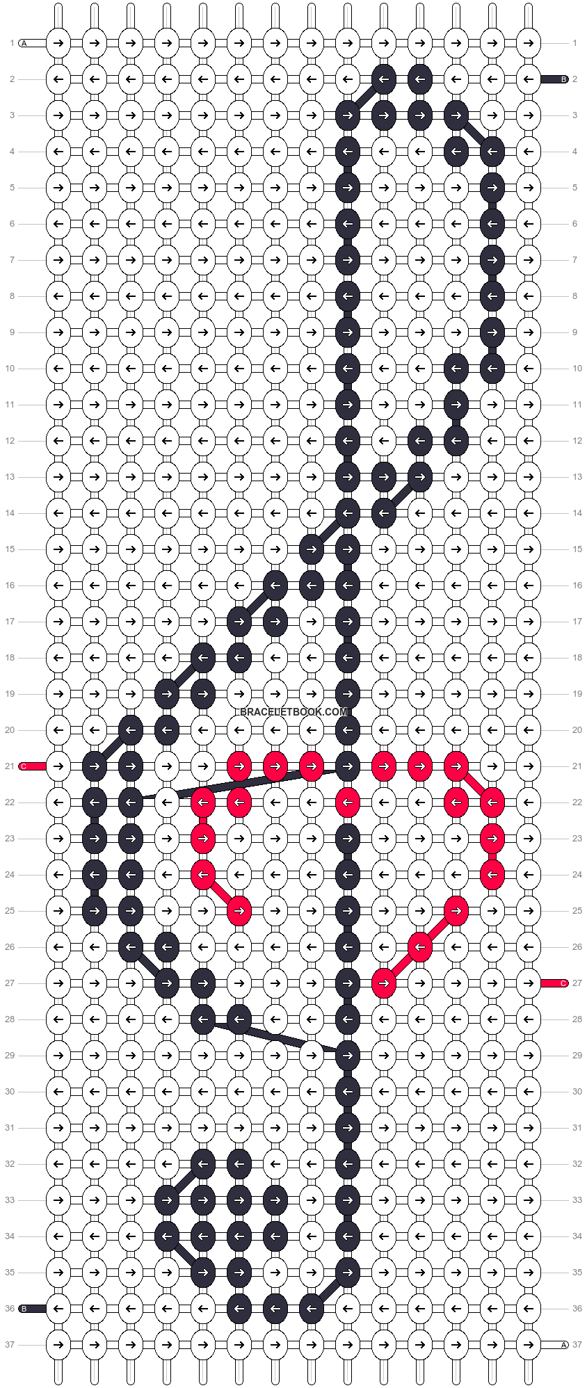 Alpha pattern #17423 pattern