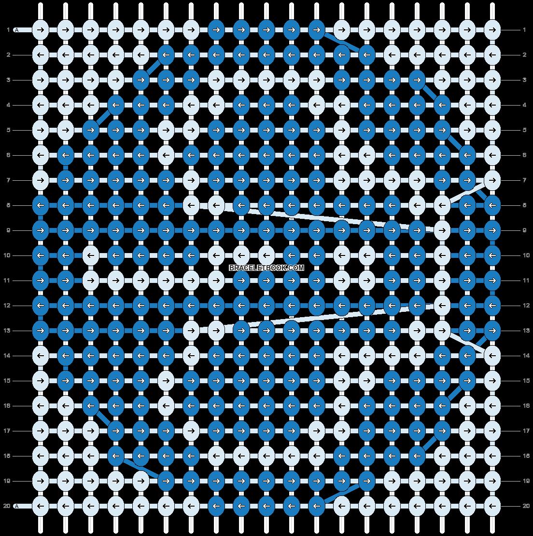 Alpha pattern #17432 pattern