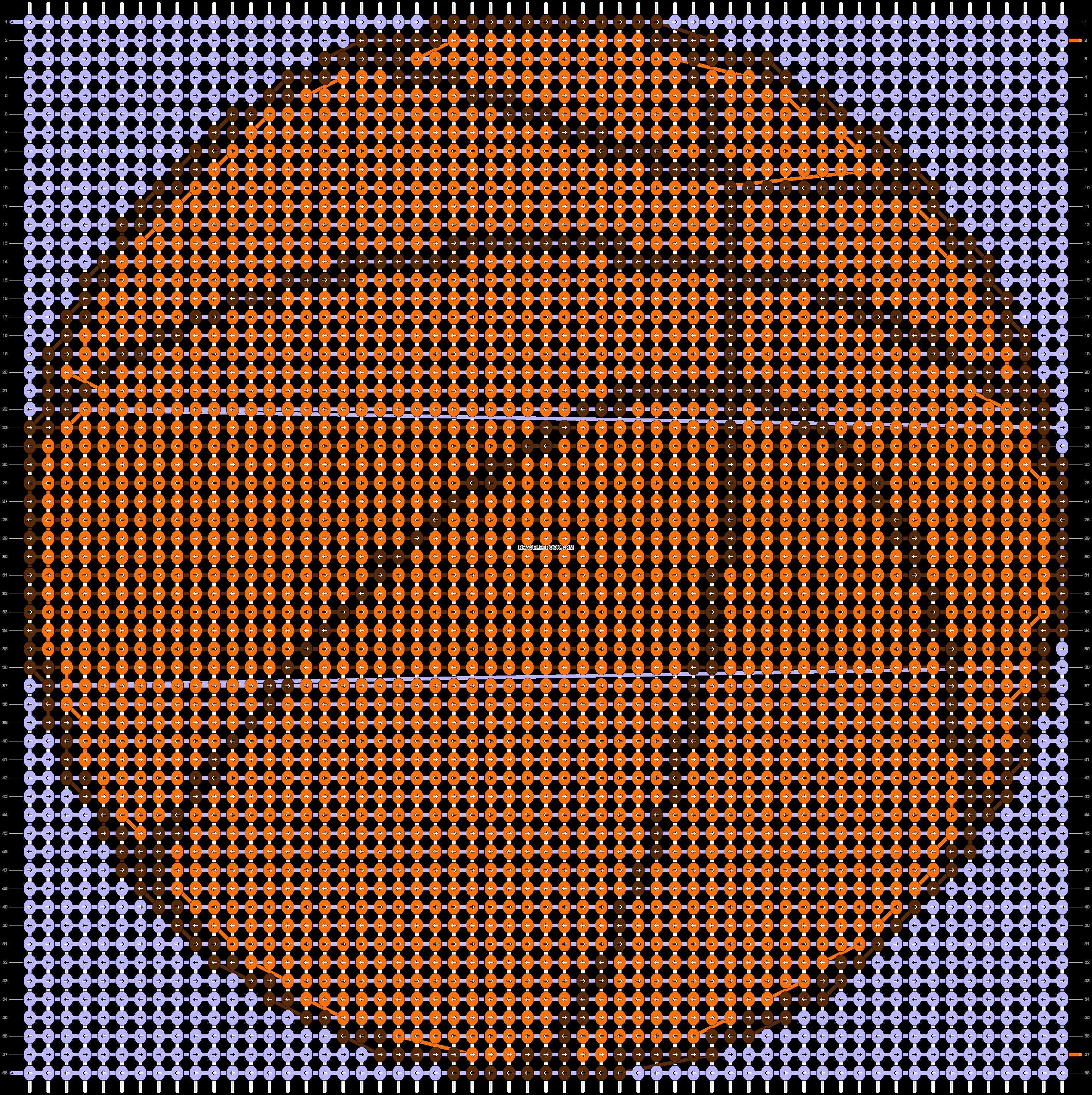 Alpha pattern #17456 pattern
