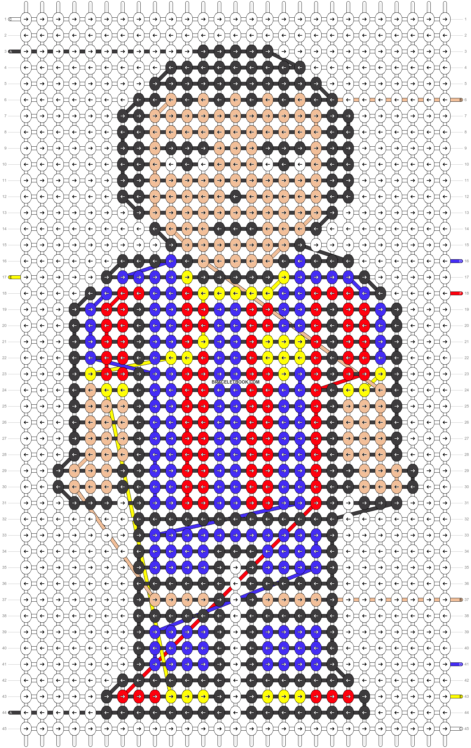 Alpha pattern #17457 pattern