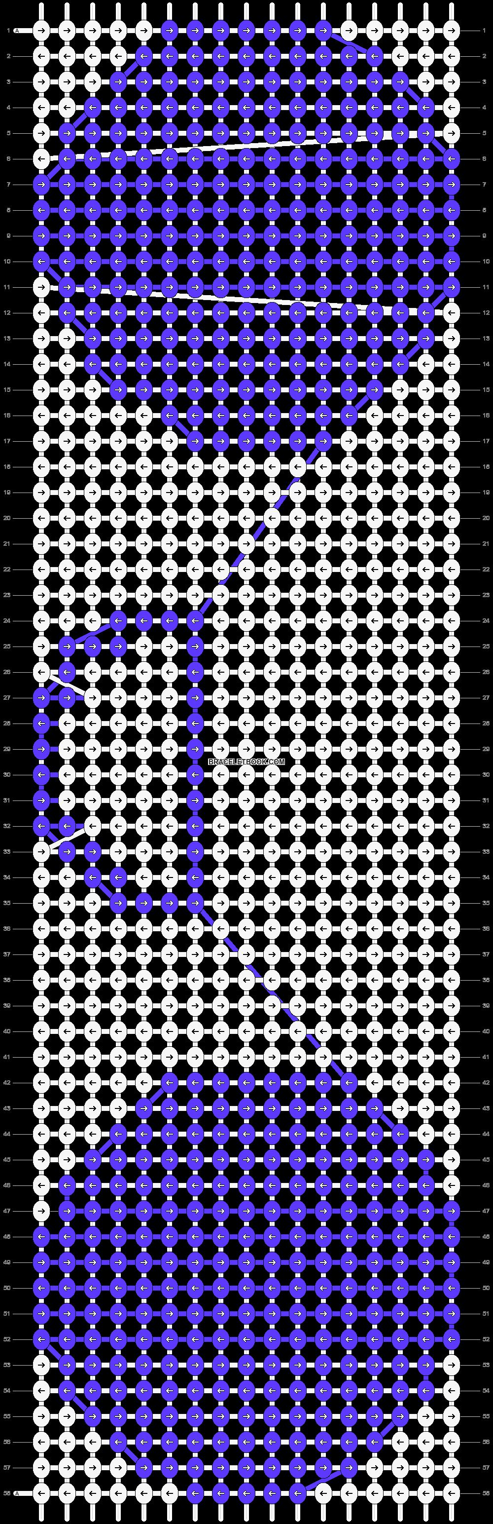Alpha pattern #17460 pattern