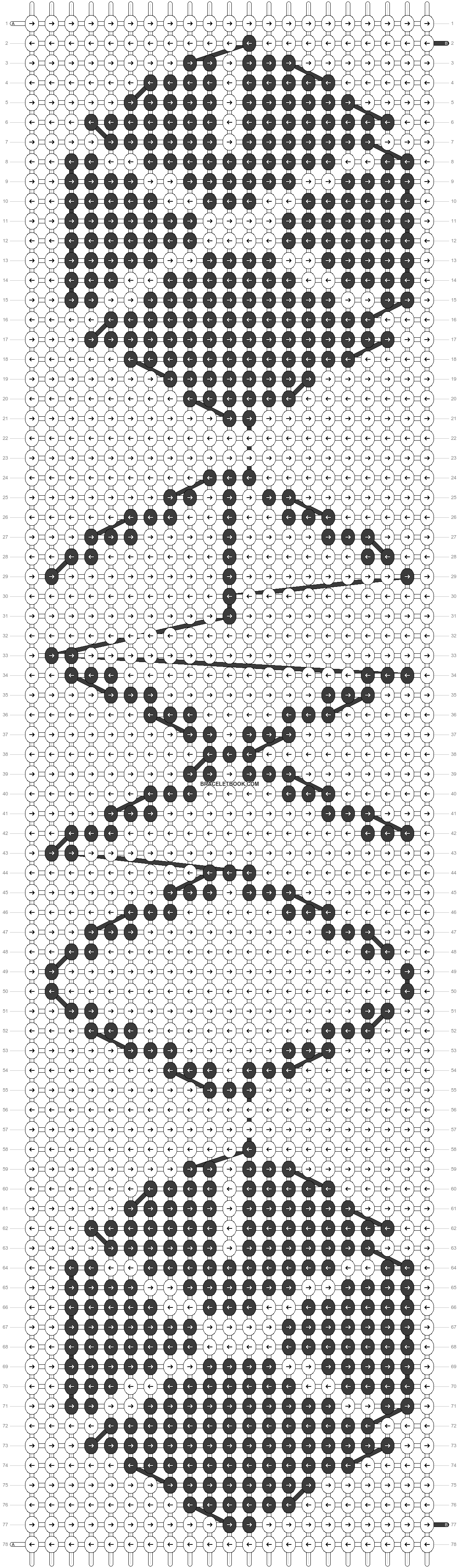 Alpha pattern #17462 pattern