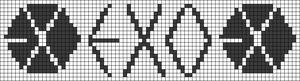 Alpha Friendship Bracelet Pattern #17462