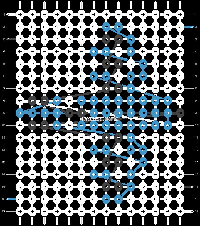 Alpha pattern #17474 pattern