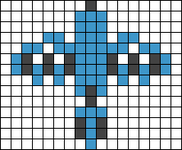 Alpha pattern #17474
