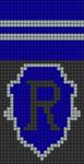 Alpha Friendship Bracelet Pattern #17483