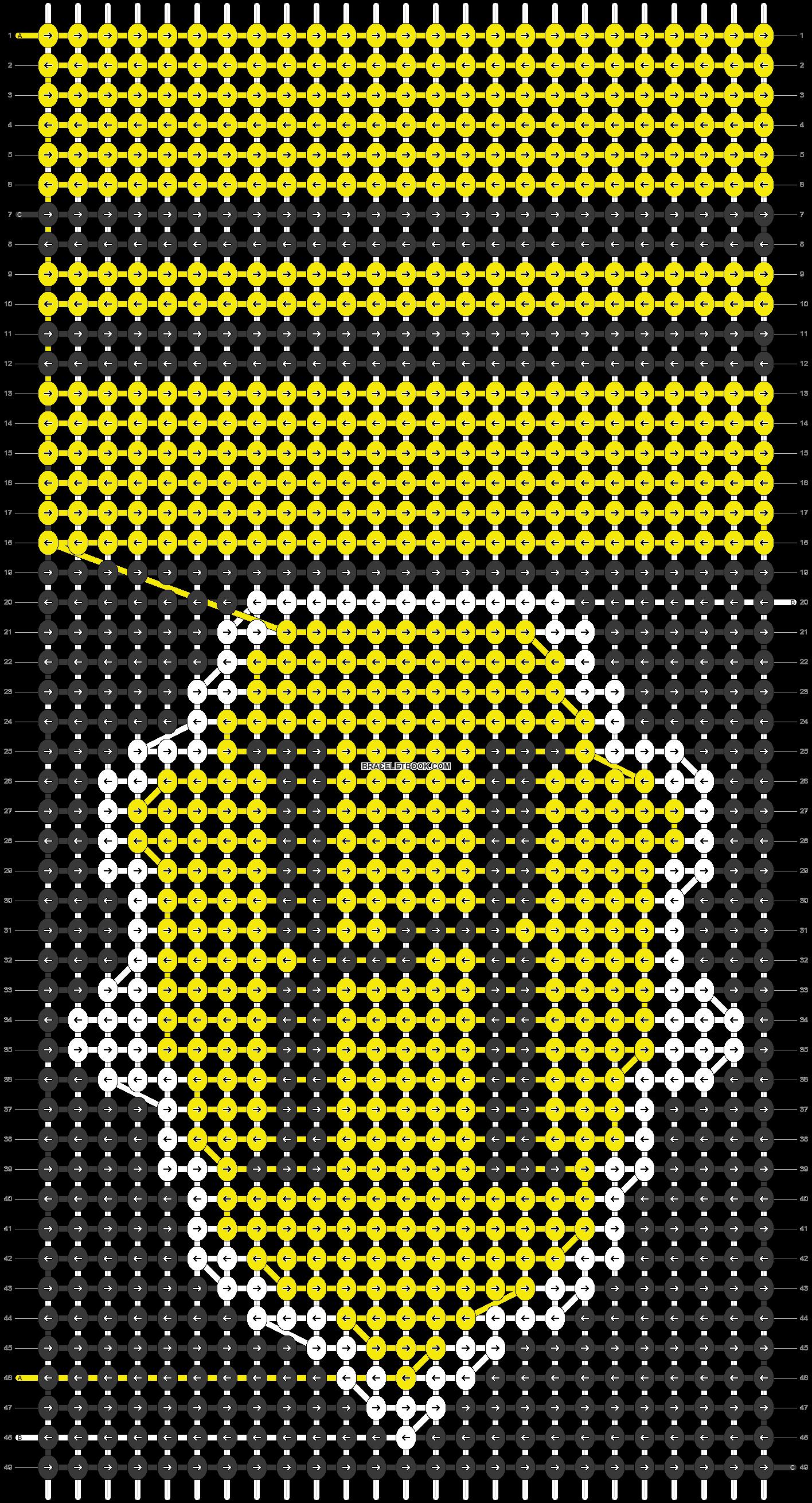 Alpha pattern #17484 pattern