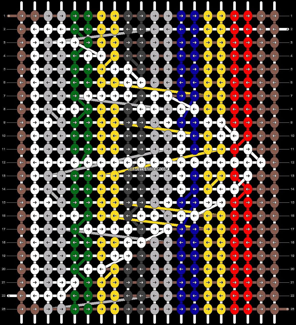 Alpha pattern #17485 pattern