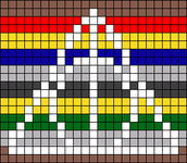 Alpha pattern #17485