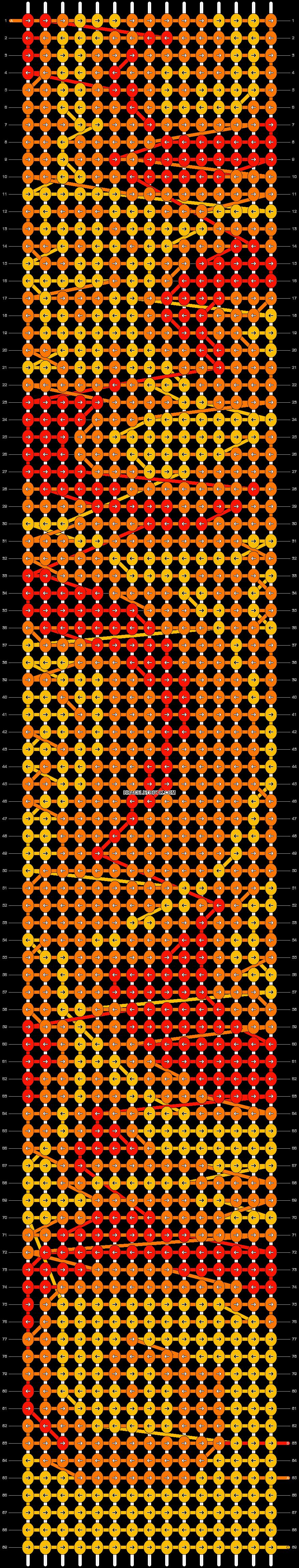 Alpha pattern #17501 pattern