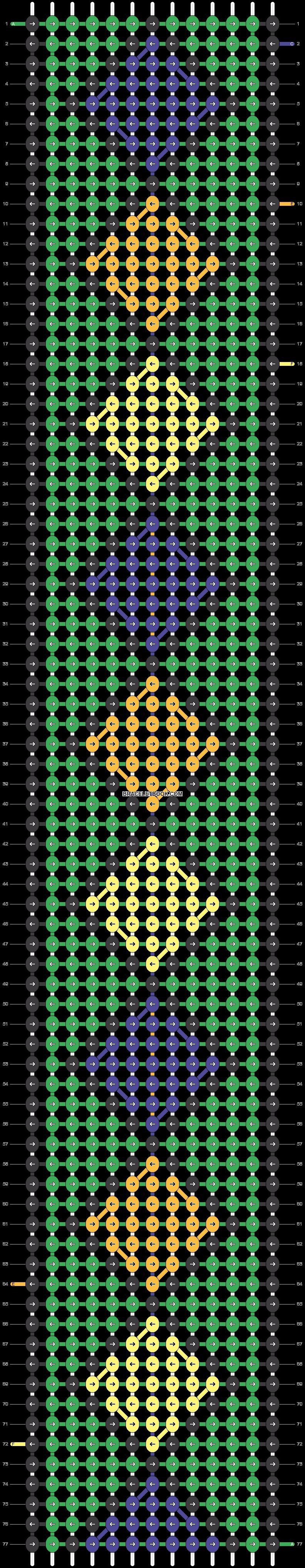 Alpha pattern #17504 pattern