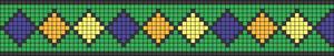 Alpha Friendship Bracelet Pattern #17504